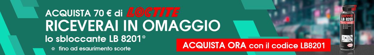 promozione Loctite + LB8201