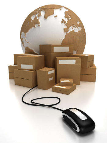 e-commerce per l'imballaggio