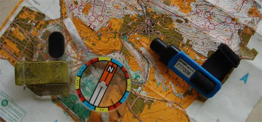 Gli strumenti base dell'orienteering